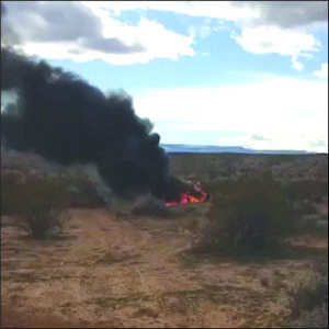 A video on the Consumer Product Safety Commission website, submitted with a consumer complaint, shows a Polaris RZR on fire. (NYT 09/06/19)